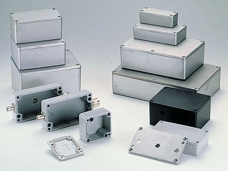 Герметичные литые алюминивые корпуса
