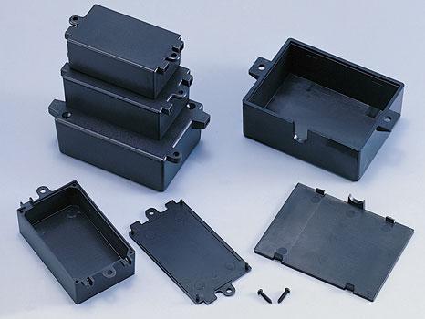 Монтажные коробки (чёрные, пластиковые)