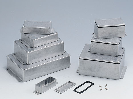 Алюминиевые корпуса с фланцами